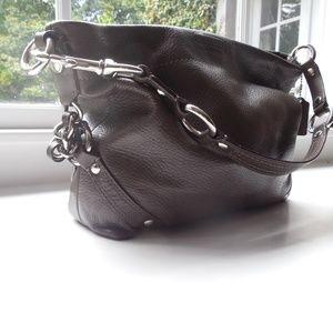 Chocolate color Coach bag